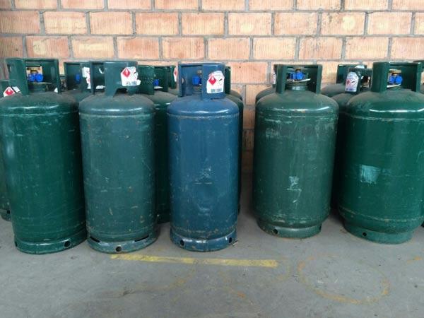 Vendita bombole a gas per condominio Sissa trecasali soragna